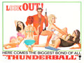"Movie Posters:James Bond, Thunderball (United Artists, 1965). Subway (45.5"" X 59.5"")Advance.. ..."