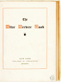 Books:Religion & Theology, The Altar Service Book. New York: Published by Subscription, 1882. ...