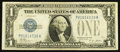 Error Notes:Inverted Reverses, Fr. 1601 $1 1928A Inverted Reverse Silver Certificate. Fine.. ...
