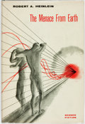 Books:Science Fiction & Fantasy, Robert A. Heinlein. The Menace from Earth. Hicksville: TheGnome Press, [1959]....