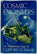 Books:Science Fiction & Fantasy, Clifford D. Simak. Cosmic Engineers. New York: Gnome Press, [1950]...