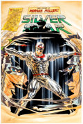 Original Comic Art:Covers, Alex Ross Kirby: Genesis - Silver Star #2 Cover PaintingOriginal Art (Dynamite Entertainment, 2011)....