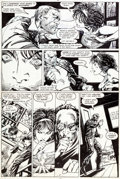 "Original Comic Art:Panel Pages, Barry Smith and Bob Wiacek Daredevil #236 ""American Dreamer""Page 7 Original Art (Marvel, 1986)...."
