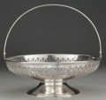 Silver Holloware, American:Bowls, A TIFFANY & CO. SILVER FOOTED BASKET, New York, New York, circa1912-1947. Marks: TIFFANY & CO., 18291, MAKERS, 9749,STER...