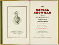 Books:Biography & Memoir, Edward P. Hingston. The Genial Showman. Being the Reminiscences of the Life of Artemus Ward. With an introduction by...