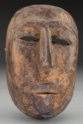 American Indian Art:Wood Sculpture, Double Mouthed Mask, Mexican or Guatemalan . 20th c....