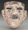 American Indian Art:Wood Sculpture, Smoker Mask, Probably Mexican . 20th c....