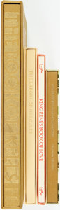 Books:World History, [Medieval Texts]. [Illuminated Manuscripts]. Group of FourFacsimile Editions. Various publishers and dates. ... (Total: 4Items)