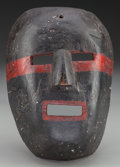 American Indian Art:Wood Sculpture, Wrestler Mask, Mexican or Guatemalan. 20th c....