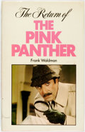Books:Mystery & Detective Fiction, Frank Waldman. The Return of the Pink Panther. Arthur BarkerLimited, [1977]. ...
