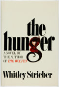 Books:Horror & Supernatural, Whitley Strieber. The Hunger. New York: William Morrow andCompany, 1981....