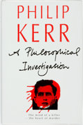 Books:Mystery & Detective Fiction, Philip Kerr. A Philosophical Investigation. London: Chatto& Windus, 1992. ...