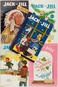Books:Periodicals, [Periodicals]. Group of Five Jack and Jill Issues fromNovember 1952-March 1953. The Curtis Publishing Company, ...(Total: 5 Items)