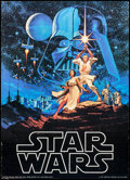 "Movie Posters:Science Fiction, Star Wars (Factors, 1977). Commercial Poster (20"" X 28""). Science Fiction.. ..."