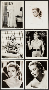 """Grace Kelly Lot (MGM & Paramount, 1950s). Photos (18) (approx. 8"""" X 10""""). Miscellaneous. ... (Total: 1..."""