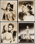 "Movie Posters:Drama, Rita Hayworth and Stewart Granger in Salome (Columbia, 1953).Portrait Photos (9) (11"" X 14""). Drama.. ... (Total: 9 Items)"