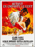 "Movie Posters:Academy Award Winners, Gone with the Wind (Action Gitanes, R-1990s). French Grande (46.5""X 61.5""). Academy Award Winners.. ..."