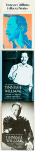 Books:Biography & Memoir, Tennessee Williams. Collected Stories. [together with:]The Selected Letters. Volumes I and II. ... (Total: 3Items)
