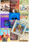 Books:Science Fiction & Fantasy, Ray Bradbury. Group of Ten Titles. Various publishers and dates. ... (Total: 10 Items)
