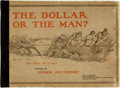 Books:Art & Architecture, [Political Cartoons]. Homer Davenport. INSCRIBED. The Dollar or the Man? The Issue of To Day. Boston: Small, Maynard...