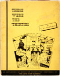 Books:Art & Architecture, [Political Cartoons]. T. E. Nichols. Ivan Glassco. These Were the 'Thirties. With Cartoons by the Late Ivan Glassc...