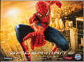 "Movie Posters:Action, Spider-Man 2 (Columbia, 2004). French Four Panel (Approximately 95""X 125"") DS Advance Style A. Action.. ..."