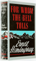 Books:Literature 1900-up, Ernest Hemingway. For Whom the Bell Tolls. [N.p., n.d.]....