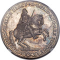 German States, German States: Saxony. Friedrich August II Taler 1741 MS66 ★NGC,...