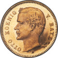 German States:Bavaria, German States: Bavaria. Otto gold Proof 10 Mark 1901-D PR64 NGC,...