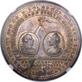 German States:Solms-Laubach, German States: Solms-Laubach. Christian August Taler 1754-IMF MS64+NGC,...