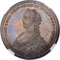 German States:Solms-Laubach, German States: Solms-Laubach. Christian August Taler 1748 MS64NGC,...