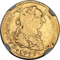 Mexico, Mexico: Charles III gold Escudo 1777 Mo-FM Fine Details (Removedfrom Jewelry) NGC,...