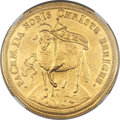 German States:Nurnberg, German States: Nurnberg. Free City gold 4 Ducat ND (1703) MS62NGC,...