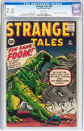 Silver Age (1956-1969):Adventure, Strange Tales #89 (Marvel, 1961) CGC VF- 7.5 White pages....