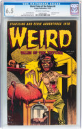 Golden Age (1938-1955):Horror, Weird Tales of the Future #8 (Aragon, 1953) CGC FN+ 6.5 Off-whiteto white pages....