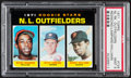 Baseball Cards:Singles (1970-Now), 1971 Topps NL Rookie Outfielders #728 PSA Mint 9....
