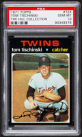 Baseball Cards:Singles (1970-Now), 1971 Topps Tom Tischinski #724 PSA Gem Mint 10 - Pop One....
