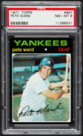 Baseball Cards:Singles (1970-Now), 1971 Topps Pete Ward #667 PSA NM-MT 8....