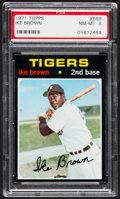 Baseball Cards:Singles (1970-Now), 1971 Topps Ike Brown #669 PSA NM-MT 8....