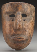 American Indian Art:Wood Sculpture, Negrito Mask, Probably Mexican. 20th c....