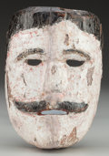 American Indian Art:Wood Sculpture, Spaniard / Dandy Mask, Mexican. 20th c....