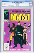 Modern Age (1980-Present):Science Fiction, Star Wars: Return of the Jedi #1 (Marvel, 1983) CGC NM/MT 9.8 White pages....