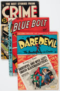 Golden Age (1938-1955):Miscellaneous, Comic Books - Assorted Golden Age Comics Group of 11 (Various Publishers, 1943-53) Condition: Average VG.... (Total: 11 Comic Books)