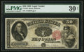 Large Size:Legal Tender Notes, Fr. 163 $50 1880 Legal Tender PMG Very Fine 30 Net.. ...