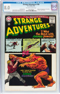 Silver Age (1956-1969):Science Fiction, Strange Adventures #180 (DC, 1965) CGC VF 8.0 Off-white to whitepages....