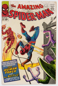 The Amazing Spider-Man #21 (Marvel, 1965) Condition: FN+