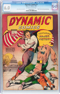 Golden Age (1938-1955):Adventure, Dynamic Comics #1 (Chesler, 1941) CGC FN 6.0 Off-white to white pages....