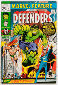 Bronze Age (1970-1979):Superhero, Marvel Feature #1 The Defenders (Marvel, 1971) Condition: FN....