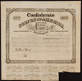 Confederate Notes:Group Lots, Ball 265 Cr. 130A $1000 Bond 1863 Fine-Very Fine.. ...