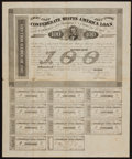 Confederate Notes:Group Lots, Ball 166 Cr. 123A $100 1861 Bond Fine.. ...